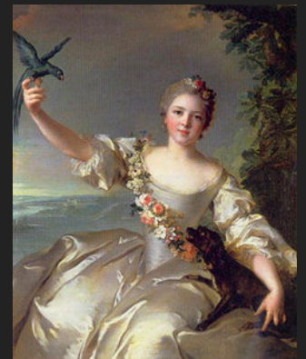 Madame de Forcalquier par Nattier