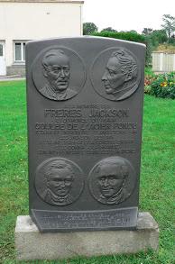 Stèle frères Jackson